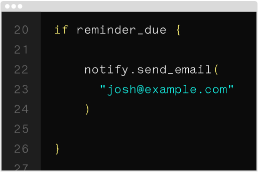 Notify: Send notifications to recipients via Notify API integration