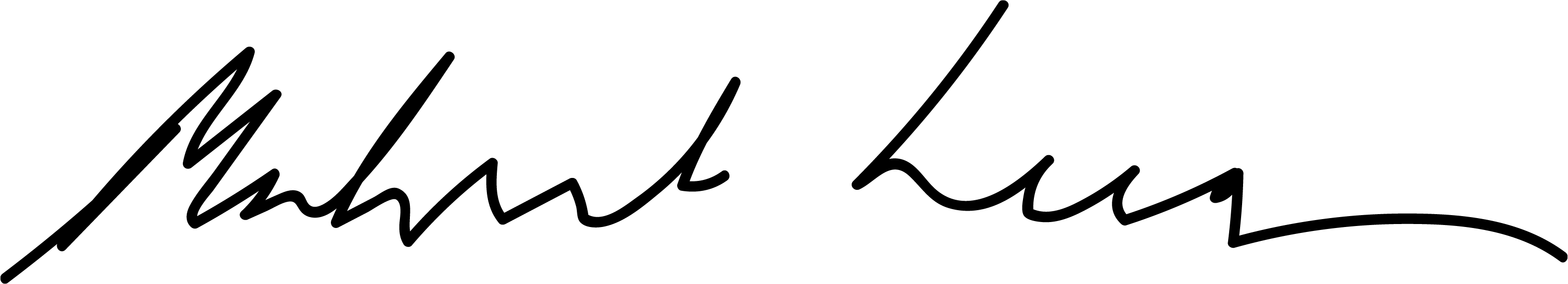 Michael Keenan signature
