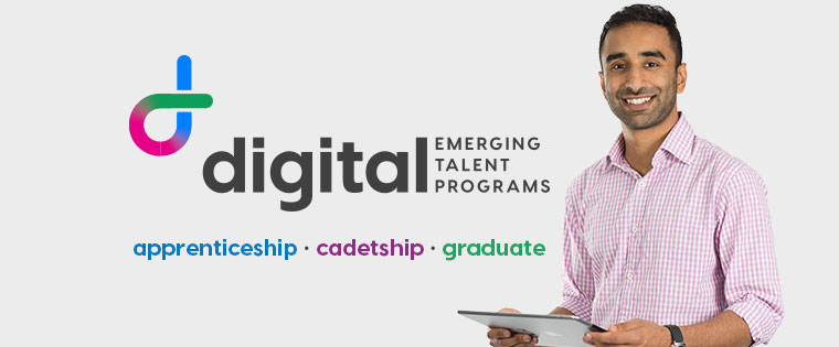 Digital Emerging Talent Programs: apprenticeship, cadetship, graduate