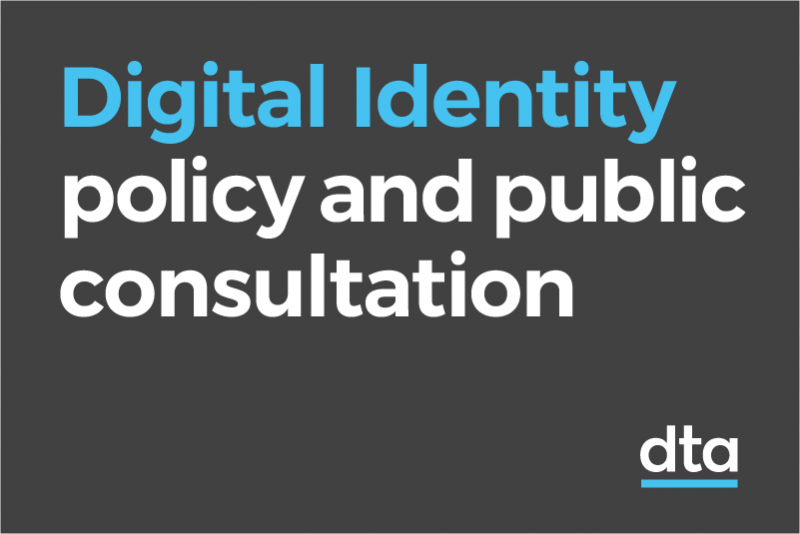 Digital Identity policy and public consultation