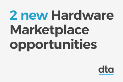 2 new Hardware Marketplace opportunities