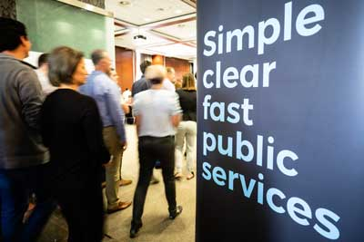 Simple clear fast public services
