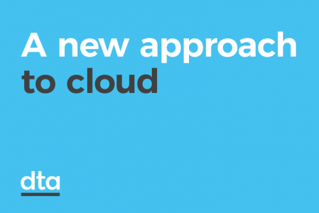A new approach to cloud.