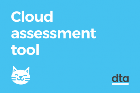 Cloud assessment tool. This creates the acronym cat. and there's an illustration of a cat.