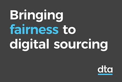 Bringing fairness to digital sourcing