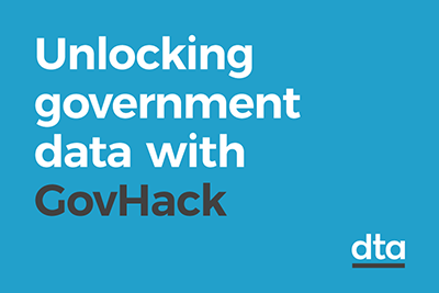 Unlocking government data with GovHack