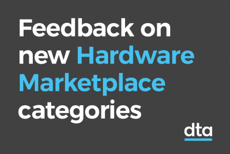 Feedback on new Hardware Marketplace categories