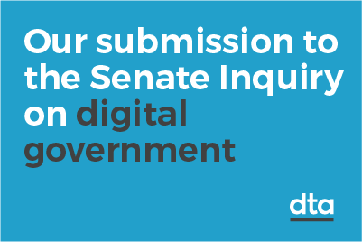 Our submission to the Senate inquiry on digital government