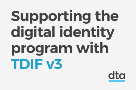 Supporting the digital identity program with TDIF version 3