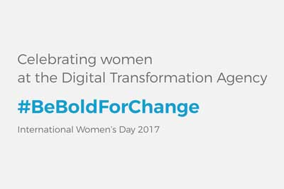 Celebrating women at the DTA – be bold for change