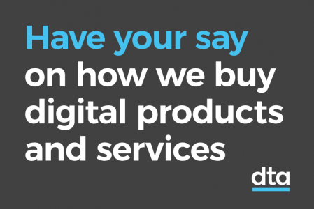 Have your say on how we buy digital products and services