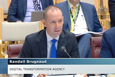 Randall Brugeaud, CEO, Digital Transformation Agency at Senate Estimates 23 October 2018