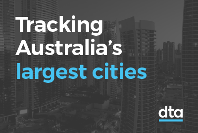 Tracking Australia's largest cities