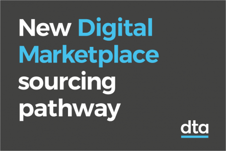New Digital Marketplace sourcing pathway