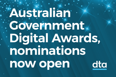 Australian Government Digital Awards nominations now open