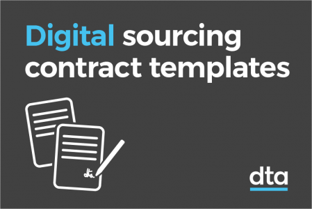 Digital Sourcing contract templates