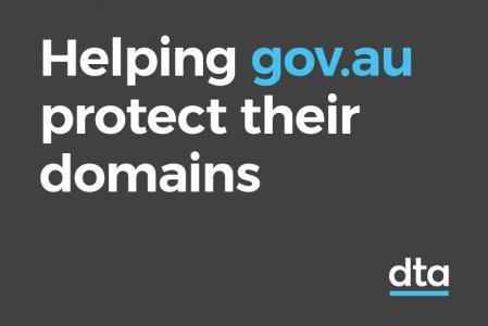 Helping gov.au protect their domains