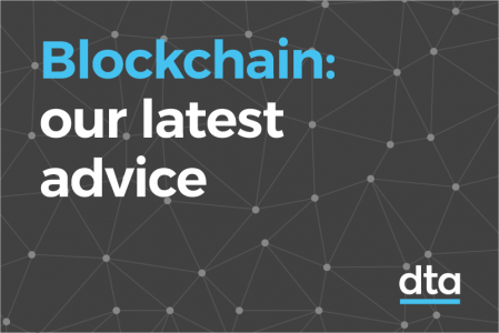 Blockchain: our latest advice