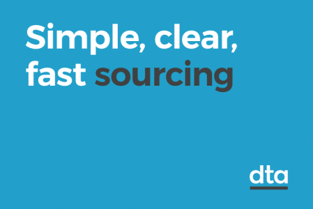 Simple, clear, fast sourcing
