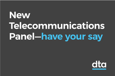 New telecommunications panel - have your say