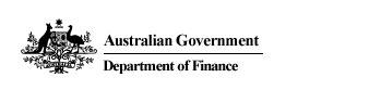 example of australian government stacked logo