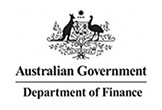 example of australian government  agency inline logo